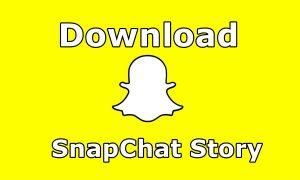 Download Snapchat Story