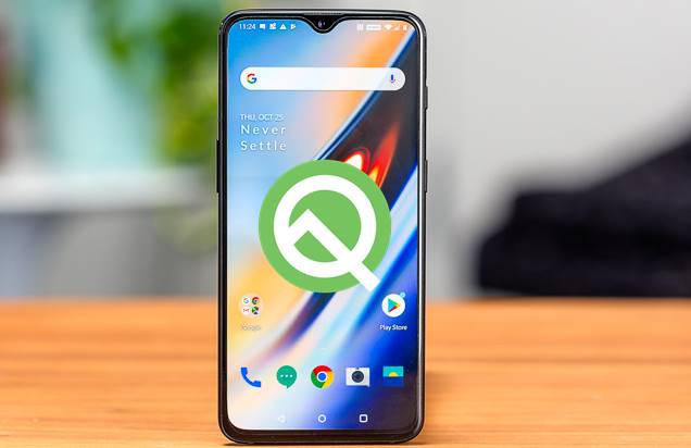 How to install Android Q beta on Oneplus 6t