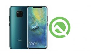 Once again Huawei Smartphone added on Android Q Beta Page